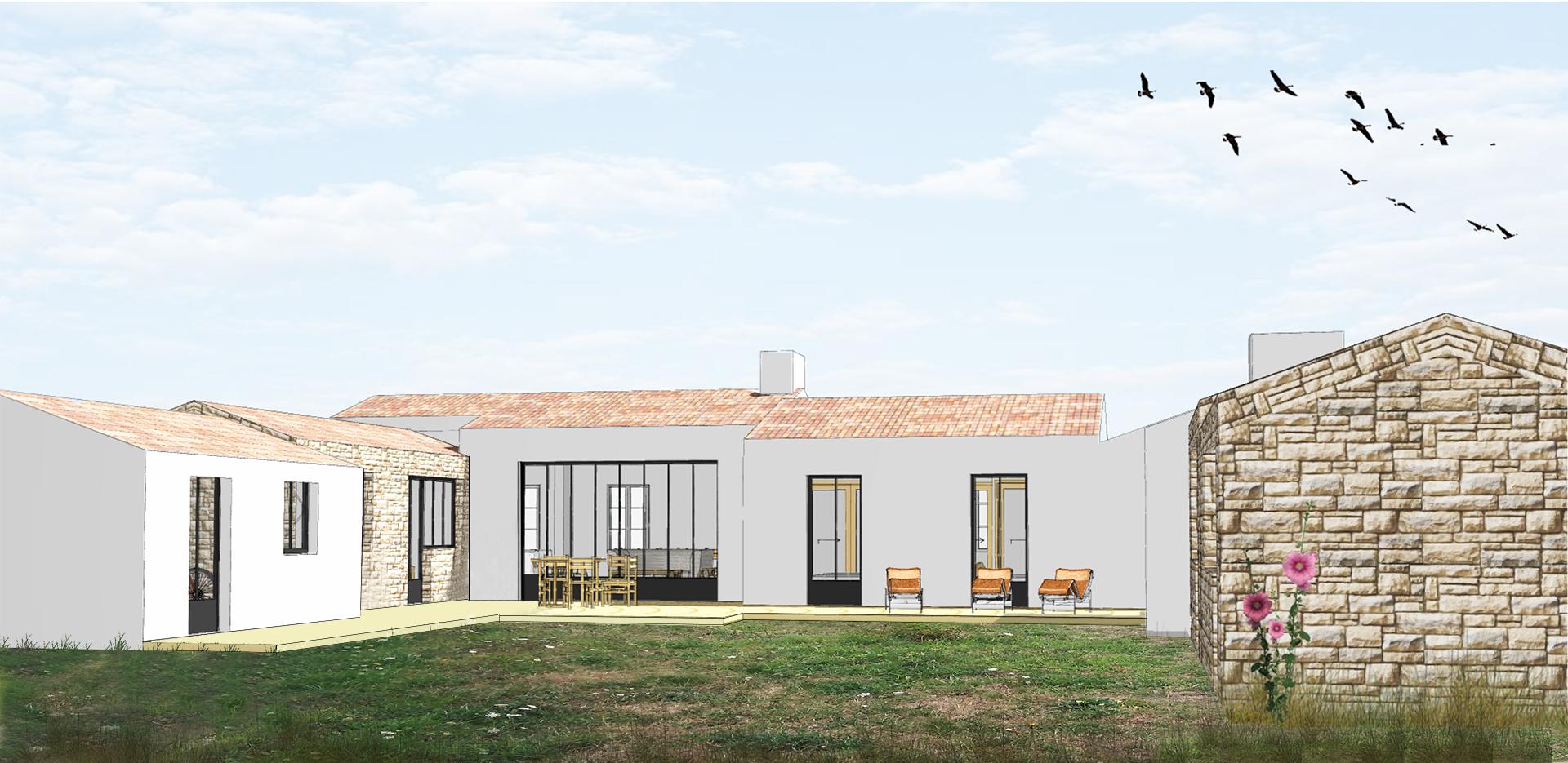 Villa à Ker Chalon